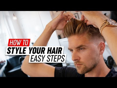 Mens hairstyles - How To Style your Hair  Mens Hairstyle Tutorial  SlikhaarTV