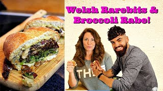 Cooking with Gaz! Welsh Rarebits with a flare! by Gretchen's Bakery