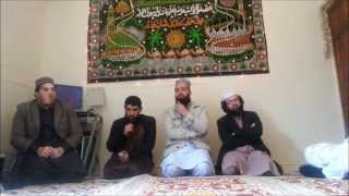 Naat by Muhammad Hammad at a milaad gathering in oldham.
