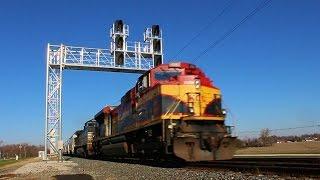 Millbury (OH) United States  city photos : KCS SD70ACe & NS C44-9W Lead an EB Manifest Train through Millbury, OH