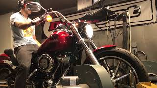 7. 2018 Harley Davidson Softail Low Rider Dyno