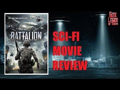 BATTALION ( 2018 Jesse Richardson ) aka PACIFIC THEATER Sci-Fi Movie