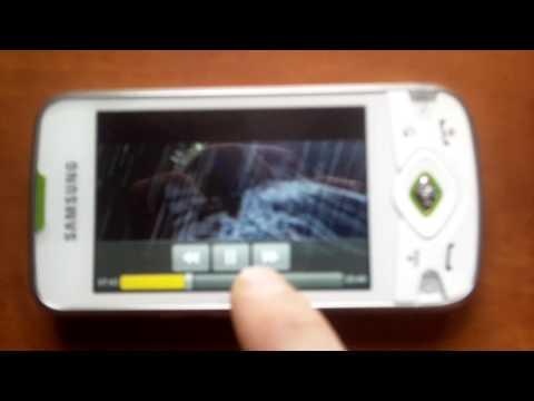 Odtwarzacz DivX w Samsunga I5700