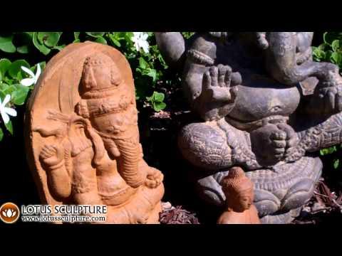 SOLD Stone Garden Ganesh Statue 12