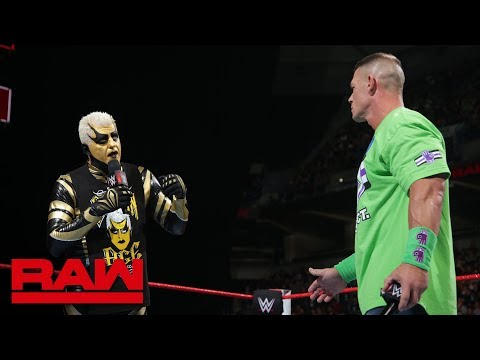 Goldust wants to shatter John Cena's dreams: Raw, March 5, 2018