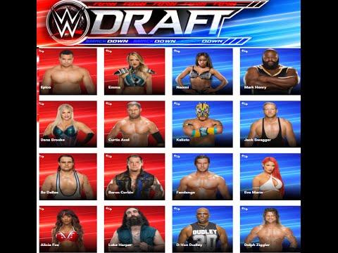 WWE Draft!!! Fantasy DRAFT!