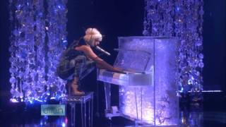 Lady GaGa - Poker Face (Live on Ellen) HD with Interview