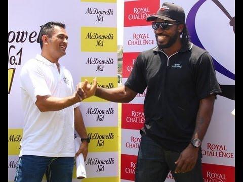 Gayle XI vs Dhoni XI