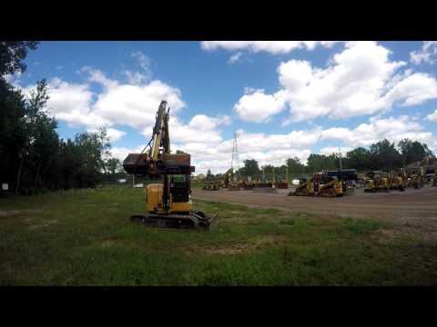 CATERPILLAR TRACK EXCAVATORS 305.5E2CR equipment video p0D1mmE5zvs