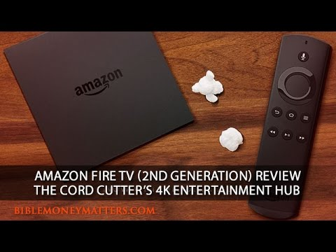 Amazon Fire TV (2nd Generation) Review: The Cord Cutter's 4K Entertainment Hub