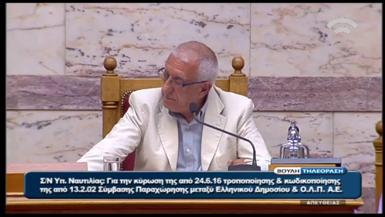 Θ. Δρίτσας: Οι αλλαγές έγιναν για λόγους ορθής νομοθέτησης