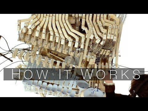How It Works - Part 2 (Wintergatan Marble Machine) (видео)