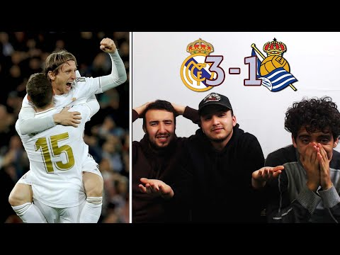PSG IS NEXT!! MADRID BEAT LA REAL AT HOME | REACTION - REACCIONES
