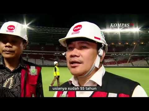inilah yang di Persiapan GBK Jelang Laga Indonesia vs Islandia 14 januari 2018
