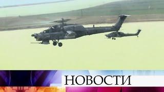 ВКрыму проходят масштабные учения сил ВДВ, Черноморского флота иВКС России.