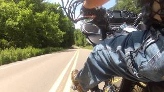 3. My 2010 Kawasaki Vulcan 1700 Voyager - Ride to Wyalusing, PA