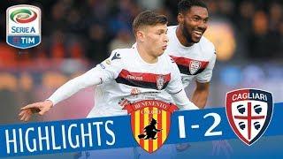 Video Benevento - Cagliari 1-2 - Highlights - Giornata 29 - Serie A TIM 2017/18 MP3, 3GP, MP4, WEBM, AVI, FLV Maret 2018