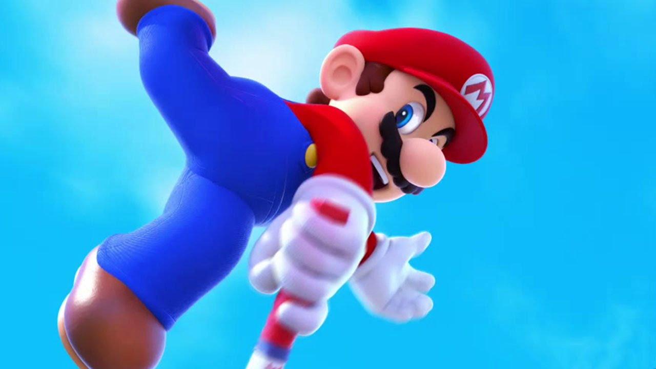 MARIO TENNIS Ultra Smash Trailer [E3 2015] #VideoJuegos #Consolas