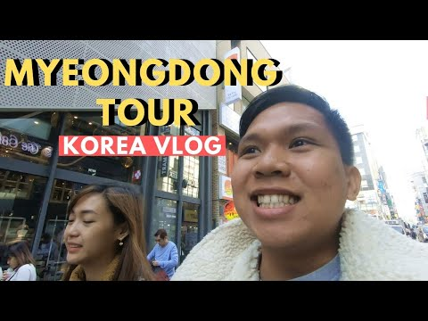 MYEONGDONG TOUR | LAST DAY IN SEOUL SOUTH KOREA 2019