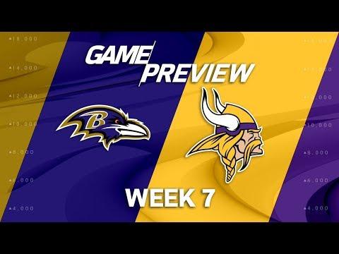 Video: Baltimore Ravens vs. Minnesota Vikings | Week 7 Game Preview | Move the Sticks