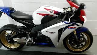 3. Honda CBR1000RR HRC 2009 (09) 11000 Miles Massive Spec