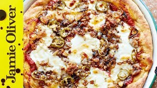 American Hot Pizza Pie | Jamie Oliver by Jamie Oliver