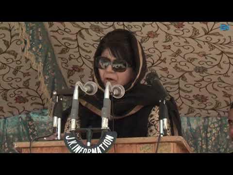 Kashmiris worst sufferers of Indo-Pak hostility: Mehbooba