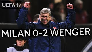 Download Video WENGER'S GREAT VICTORIES: Milan 0-2 Arsenal MP3 3GP MP4