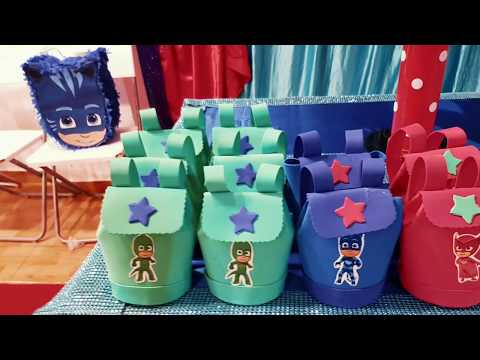 Decorar Fiesta Pj Masks Party