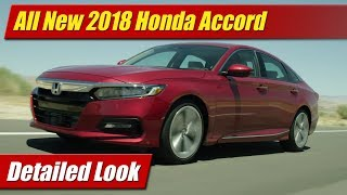 Detailed first look at the all-new 2018 Honda Accord sedans with review of new styling, new tech features, new engines, transmissions and specs!Photo gallery and article: http://testdriven.tv/2017/07/detailed-look-2018-honda-accord/Auto news with a reality check! New car, truck, SUV and crossover test drives, reviews and news posted daily!Subscribe: http://www.youtube.com/TestDrivenTVWebsite: http://www.TestDriven.TVFacebook: http://www.facebook.com/TestdriventvTwitter: http://www.twitter.com/testdriventvGoogle: http://www.google.com/+TestDrivenTV