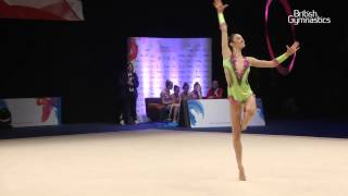 Holford United Kingdom  city images : GOLD - Laura Halford - Hoop - Senior - 2015 British Rhythmic Gymnastics Championships