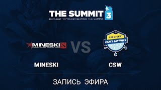 CSW vs Mineski, game 1