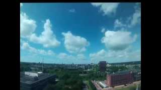 Time-Lapse with GoPro Hero 3 Silver Groningen city 25 juni 2013