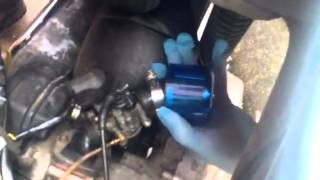 5. Vespa et2 carb removal