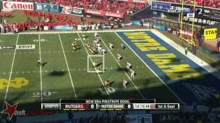 Troy Niklas vs Rutgers (2013)