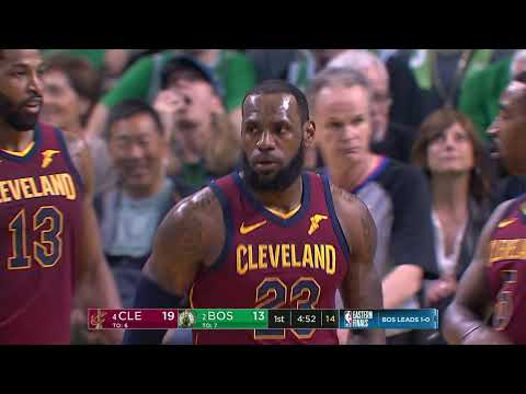 NBA Playoffs - Cleveland at Boston, Game 2 from 05/15/2018