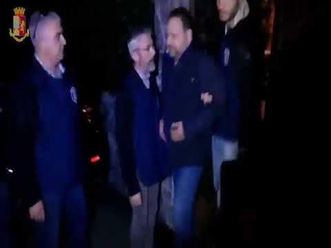 Scommesse e mafia: il video degli arresti della Squadra Mobile