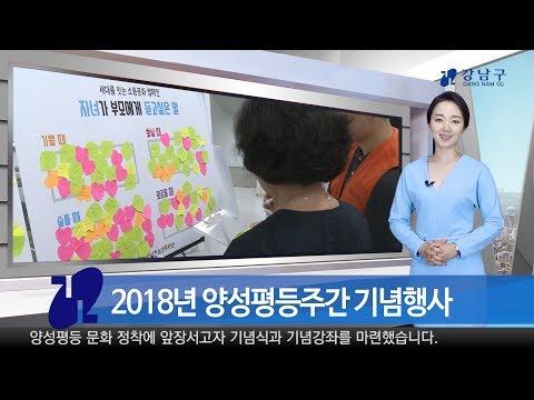 2018년 7월 넷째주 강남구 종합뉴스