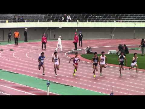 織田記念100m予選