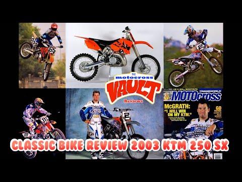 2003 KTM 250 SX Classic Bike Review