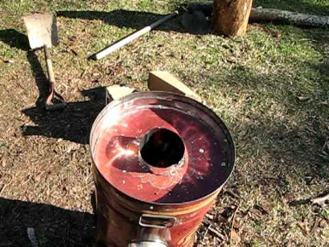 My Winiarski Rocket Stove