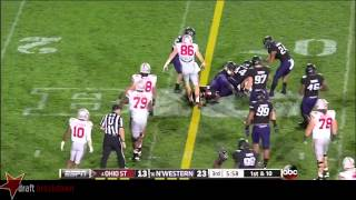Jack Mewhort vs Northwestern (2013)