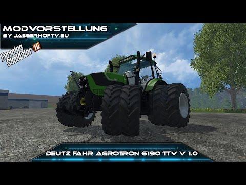 Deutz Fahr Agrotron 6190 TTV v2.0