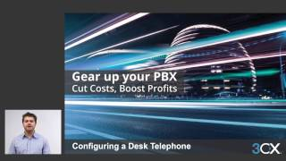 Configuring a Desktop Telephone V15