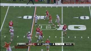 Braxton Miller vs Illinois (2013)