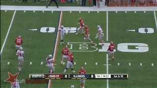 Braxton Miller vs Illinois (2013)