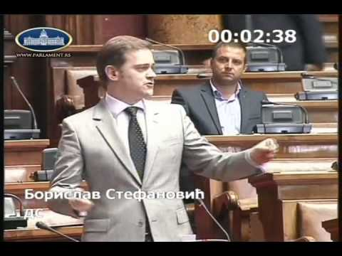 Борислав Стефановић о амандманима на измене Закона о јавном информисању и медијима