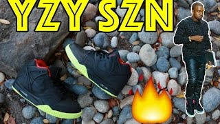 NIKE AIR TECH CHALLENGE YEEZY 2 CUSTOM TUTORIAL + TIME-LAPSE!!!