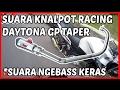 Suara Knalpot Racing Vixion  Daytona GP Taper STD waptubes