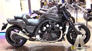 7. 2015 Yamaha V-Max - Walkaround - 2014 EICMA Milan Motorcycle Exhibition
